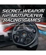 V900 PC Racing Wheel, Universal Usb Car Sim 270/900 degree Race Steering... - $239.57