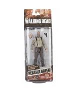 McFarlane Walking Dead Series 7 HERSHEL GREENE Slight Damaged Card free shipping - $9.49
