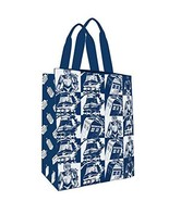 Doctor Who Large Tote Bag: Comic Strip Blue (SDCC Exclusive) - $19.79