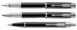 Parker Premium IM METAL BLACK CT  Fountain(M)/Roller Ball/Ballpoint Pen - $22.80+