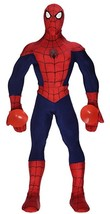 MARVEL ULTIMATE SPIDERMAN ULTRA POSE SPIDER-MAN - Soft Body NEW Great Gift! - $24.94