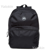 NEW Black Lightweight Unisex Compact Size Fashion Backpack Shoulder Book... - $23.99