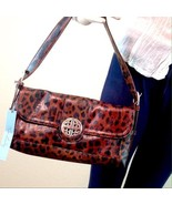 Kate Landry Leopard Shoulder Bag NWT - $45.00