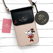 NEW Kate Spade Minnie Mouse North South Flap Phone Crossbody Wallet - $169.00