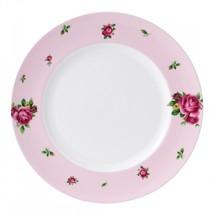 ROYAL ALBERT NEW COUNTRY ROSES PINK MODERN DINNER PLATE NEW (S) - $32.71