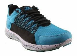 Supra Owen Turquoise Black Suede Running Cross-trainer Skateboarding Shoes NIB