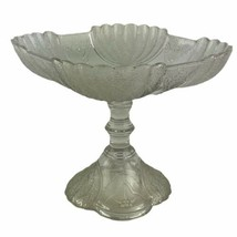 Antique Victorian 1881 Duncan EAPG Shell & Tassel Open Compote High Stan... - $51.43