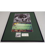 Billie Jean King & Bobby Riggs Signed Framed Battle of the Sexes Photo Set  - $280.49