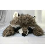 "Liberty Toy Raccoon Plush Pillow 24"" 1998 Stuffed Animal Toy - $69.95"