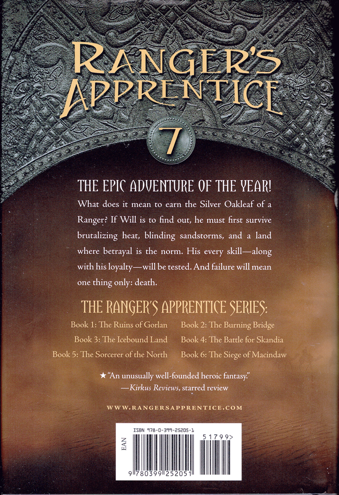 rangers apprentice book 6 and 7