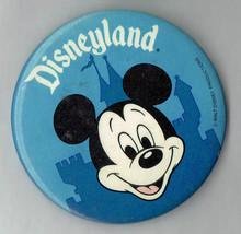 "Disneyland Souvenir Mickey Mouse Blue 3"" Pin button - $14.00"