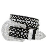 50116 Western Rhinestone Cowgirl Style Bling Women's Studded Fashion Bel... - $26.95