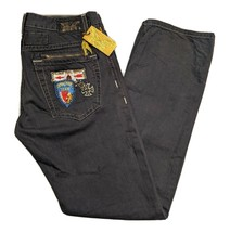 Robin's Jean Camp Patch Studded Real American Men's Grey Pants USA Made ... - $72.54