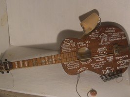 A12 UNIQUE GUITAR ART DECOR WALL HANGER MUST LOOK deco HANDMADE used for... - $46.40