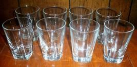 Eight Libbey Duratuff Restauarnt Quality Juice Glasses - $14.96
