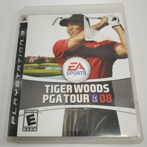Primary image for Tiger Woods PGA Tour 08 (Sony PlayStation 3, 2007) PS3 Game Complete With Manual