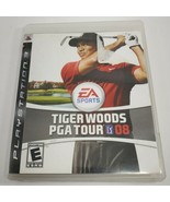 Tiger Woods PGA Tour 08 (Sony PlayStation 3, 2007) PS3 Game Complete Wit... - $4.95