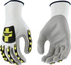 West Chester 713HGWUB XL Barracuda Impact Glove, XL, White Gray Multi-Co... - $16.98