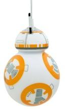 Hallmark Star Wars BB-8 Droid Decoupage Shatterproof Christmas Tree Ornament NWT image 2