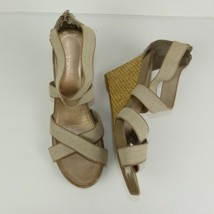 f54e8853b1ea Sam & Libby Women's Size 10 Strappy Open Toe Wedge Sandals