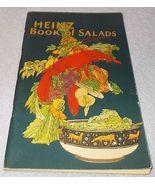 Antique Vintage H J Heinz Book of Salads Recipe Booklet 1925 - $9.95
