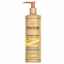 Pantene Gold Series Moisture Boost Shampoo Gentle Cleanse Soft Dry Hair ... - $7.87