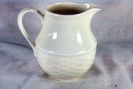 Nikko 2003 Nature Pastel Basketry #2300 Creamer 8 oz. - $11.77