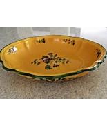 Vintage Signed Provence Cantagalli Tuscany Pottery Oval Platter (14.5 X ... - $116.88