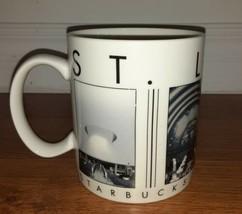 Starbucks Barista 2003 City Scenes Series ST.LOUIS Skyline Mug 18oz Blac... - $7.81