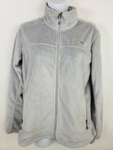 Mountain Hardwear Fleece Jacket Soft Fuzzy Women's Size M Gray - $43.33