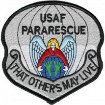 Usaf Pararescue Jumper Military Patch So Others May Live Hook And Loop New!!! - $11.87