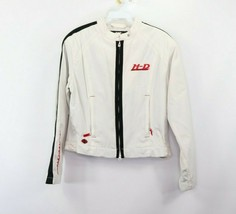 Vintage Harley Davidson Motorcycles Womens Small Spell Out Full Zip Jack... - $98.95