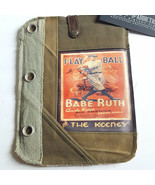Babe Ruth Play Ball PAD Tablet Sleeve Bag Recycled Canvas Vintage Addict... - $22.49