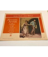 "Vintage 1957 Lobby Card ""Spanish Affair"" Richard Kiley Carmen Sevilla - $10.00"