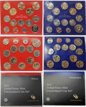 2012 P & D US Mint Set United States Original Government Packaging Box C... - £68.46 GBP
