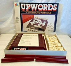 VINTAGE UpWords Cross Word Style Board Game 1984...Complete...Milton Bradley - $7.91