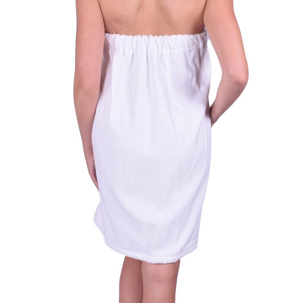Womens Body Wrap Towel - 100% Cotton Adjustable Bath Cover Up - Made In Turkey