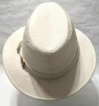 Dorfman Pacific Co. Men's Garment Washed Twill Safari Hat Beige Small, used - $49.49
