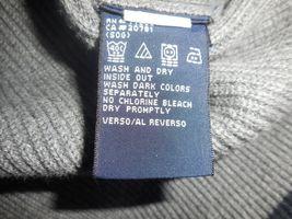 Tommy Hilfiger M Gray Knit V-Neck 100% Cotton Pullover Sleeveless Sweater Vest image 11