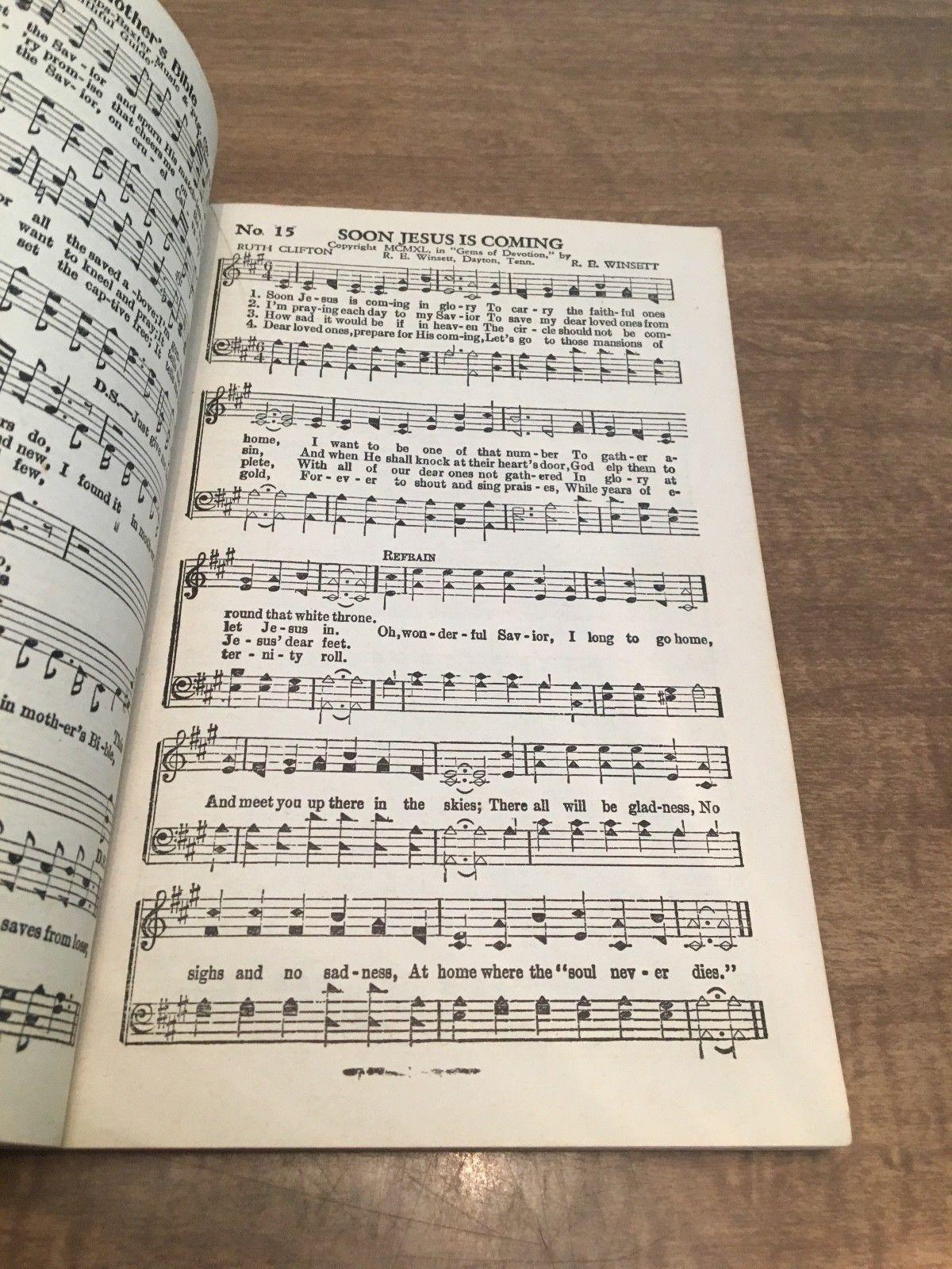 Joys Supernatural, edited by R.E. Winsett, 1942 Vintage Music Book