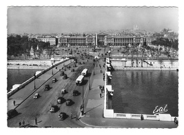 Paris France Pont Bridge Place de le Concorde ESTEL Glossy Photo Postcar... - $6.99