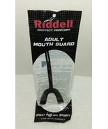 Riddell Adult Mouth Guard Protect/Perform - Black - $1.95
