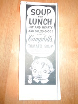 Vintage Campbell's Tomato Soup Magazine Advertisement 1950's - $3.99