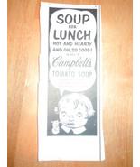 Vintage Campbell's Tomato Soup Magazine Advertisement 1950's - $3.99