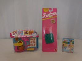 Barbie Accessories Baking Time + Barbie Doll Mini 50 Pc Puzzle + 1990 Fa... - $13.89