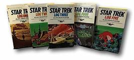 Rare Vtg Science Fiction Lot 5 Vintage Star Trek Log Books Dean Foster 1... - $58.41