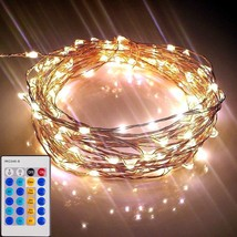 Starry Lights with Remote Control/Dimmer 20 Ft/120 LEDs - Various Length... - $24.52