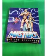 Masters of the Unviverse Sticker Album Pantini 1983 First Edi Stickers o... - $49.99
