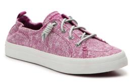 Sperry Top-Sider Femmes Raspberry Crest Ebb Rougi Slip-On Chaussures Baskets Nib