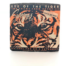 Eye of the Tiger Survivors The Theme Rocky III 45RMP Vintage Record CBS ... - $13.99